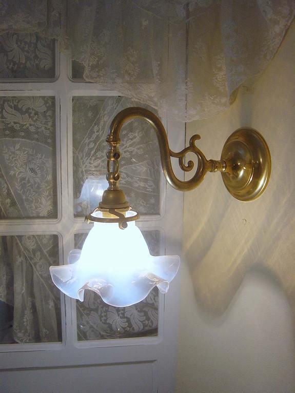 アンティーク調ブラケットランプ